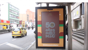 McDonald's celebrates 50 years of Big Macs with digital signage dance-off